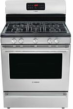 Bosch HGS5L53UC Gas Ranges 30&quote; Free Standing Gas Range 500 Series - Stainless Steel HGS5L53UC HGS5L53UC