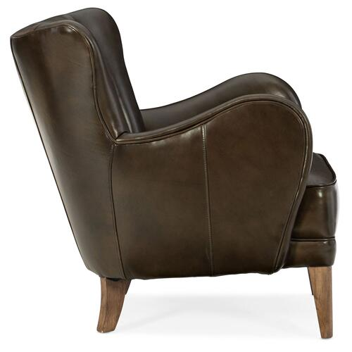 Living Room Treasure Leather Club Chair