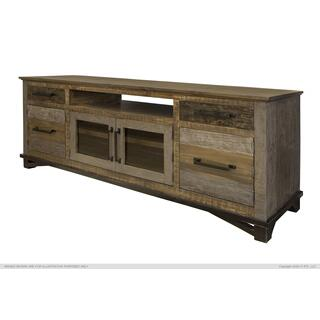 "2 Drawers, 4 Doors, 76"" TV Stand"