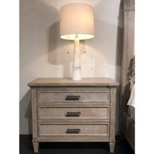 Willow Large Nightstand - Burlap