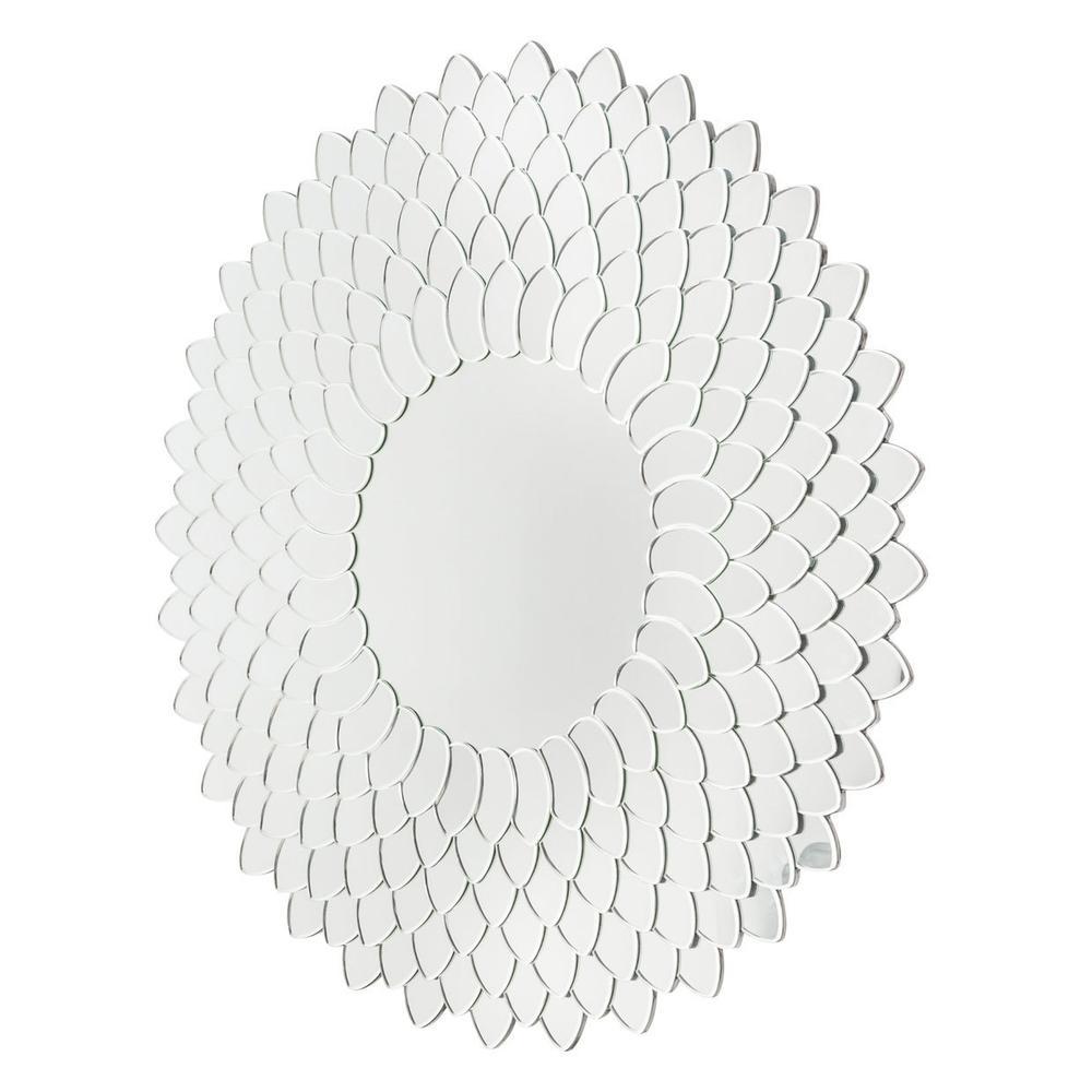 See Details - Round Wall Mirror 8525
