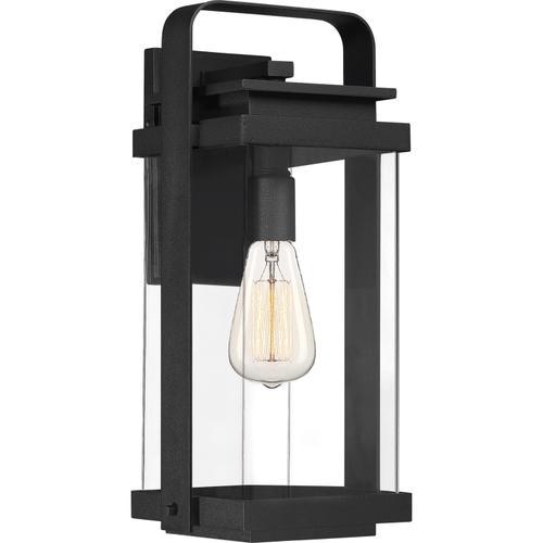 Quoizel - Exhibit Outdoor Lantern in Earth Black