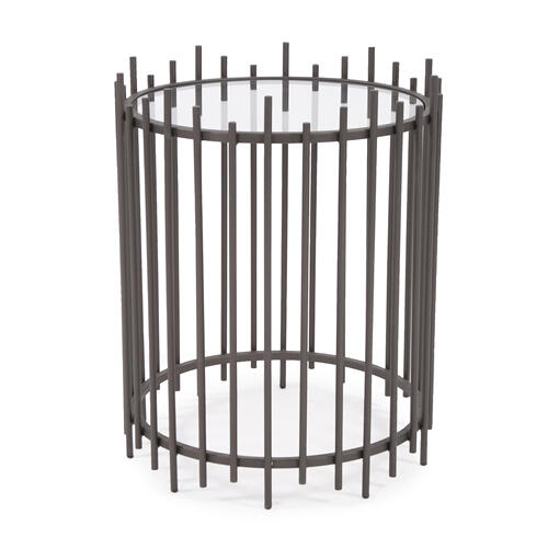 Iron Rod Side Table