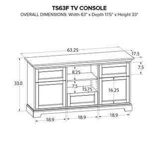 TS63F Custom TV Console