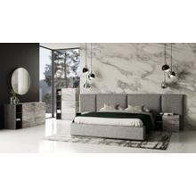 View Product - Nova Domus Maranello - Modern Grey Bed Set