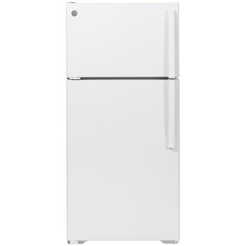 Gallery - GE® ENERGY STAR® 15.6 Cu. Ft. Top-Freezer Refrigerator