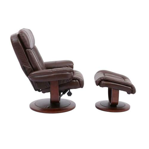 Parker House - PRINCE - ROBUST Manual Reclining Swivel Chair and Ottoman