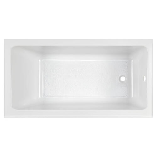 Studio 60x32-inch Bathtub - Above Floor Rough with Built-In Apron - Right Drain  American Standard - White