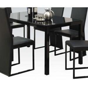 Acme Furniture Inc - Dining Table W/bk Gl (1pc/1ctn