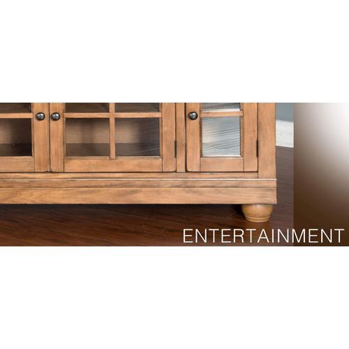 "Dockside 110""W Entertainment Wall"