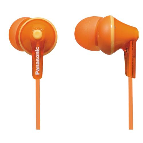 ErgoFit In-Ear Earbud Headphones - Orange - RP-HJE125-D