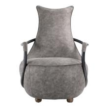 Carlisle Club Chair Grey Velvet