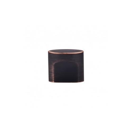 Oval Slot Knob 3/4 Inch (c-c) - Tuscan Bronze
