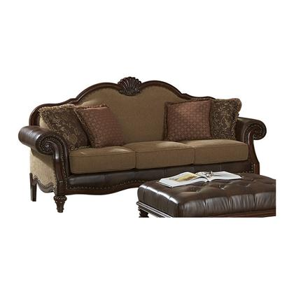 See Details - SOFA, BONDED LEATHER SOFA