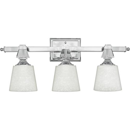 Quoizel - Deluxe Bath Light in Polished Chrome
