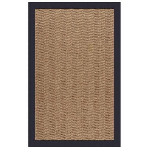 "Capel Rugs - Islamorada-Herringbone Canvas Navy - Rectangle - 24"" x 36"""