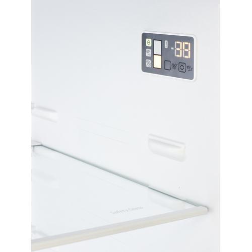 "Summit - 28"" Wide Bottom Freezer Refrigerator With Icemaker"