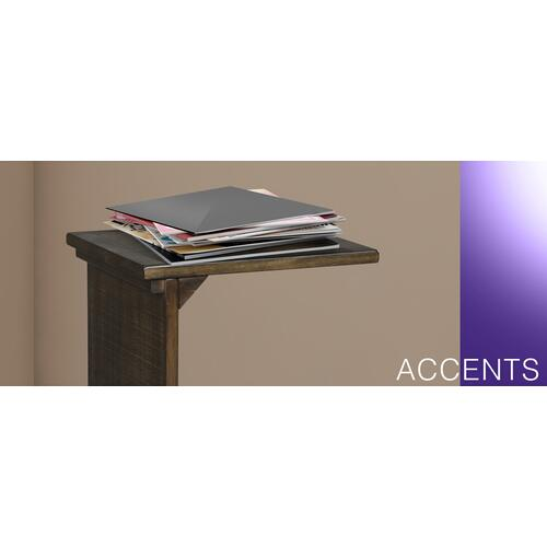 Chairside Table w/ Magazine Rack