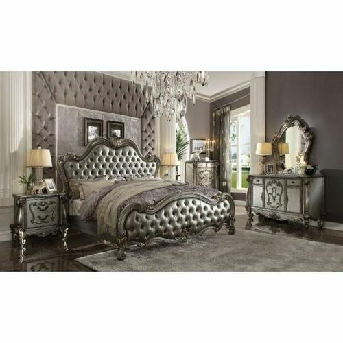 ACME Versailles Dresser - 26845 - Antique Platinum