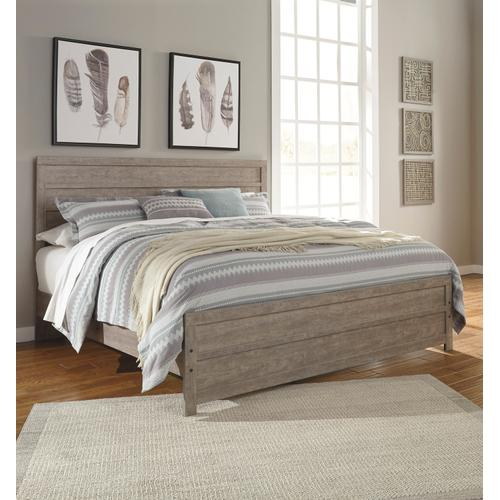 Culverbach - Gray 3 Piece Bed (King)