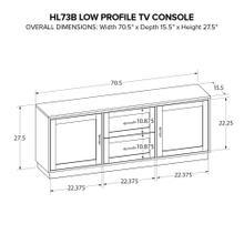 Howard Miller Custom Wide TV Console HL73B