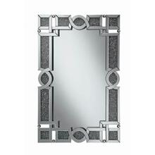 Ornate Silver Wall Mirror