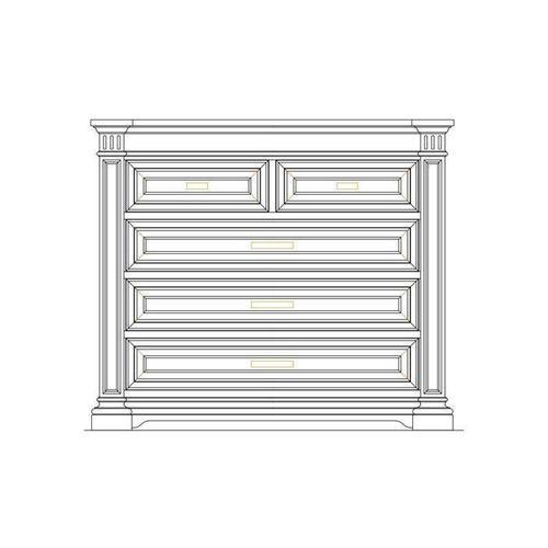 Stanley Furniture - Portico Single Dresser - Shell