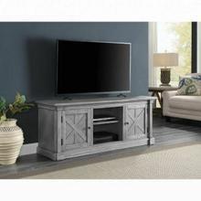 ACME Lucinda TV Stand - 91612 - Farmhouse - Wood (Poplar), Wood Veneer (China Oak), MDF - Gray Oak