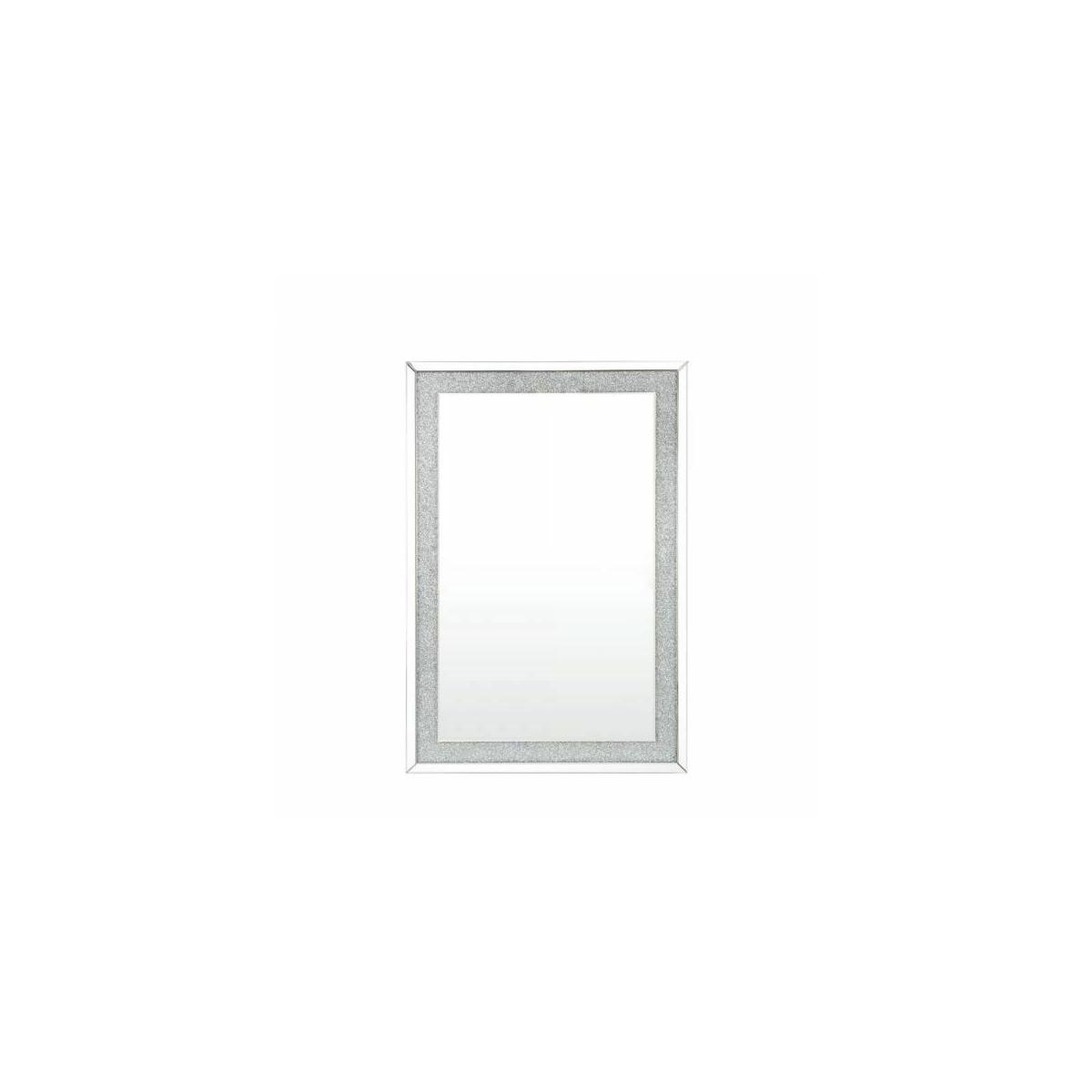 ACME Noralie Wall Decor - 97719 - Glam - Glass, MDF, Faux Diamonds (Acrylic), LED - Mirrored and Faux Diamonds