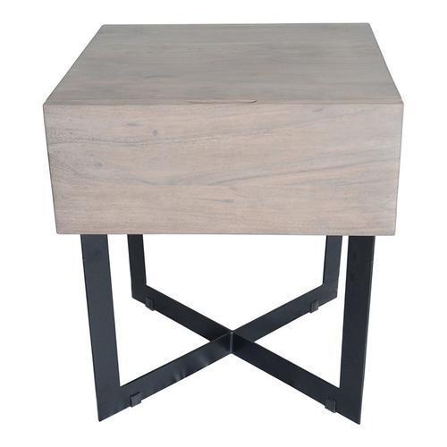 Moe's Home Collection - Tiburon Side Table Blush