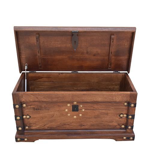 Progressive Furniture - Storage Trunk - Walnut Finish