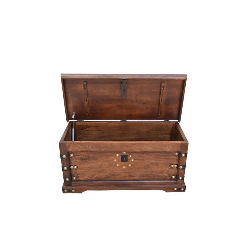 Storage Trunk - Walnut Finish