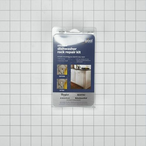 KitchenAid - Dishwasher Rack Repair Kit, White - Other