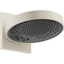 Brushed Nickel Showerhead 250 3-Jet with Wall Connector Trim, 2.5 GPM