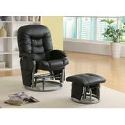 Casual Black Glider Product Image