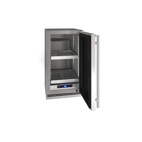 """18"""" Refrigerator With Stainless Solid Finish (230 V/50 Hz Volts /50 Hz Hz)"""