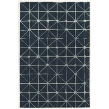 See Details - Aspire Wool Triangle Navy/crea