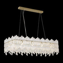 Royal Crown Rect. 12 Light Chandelier