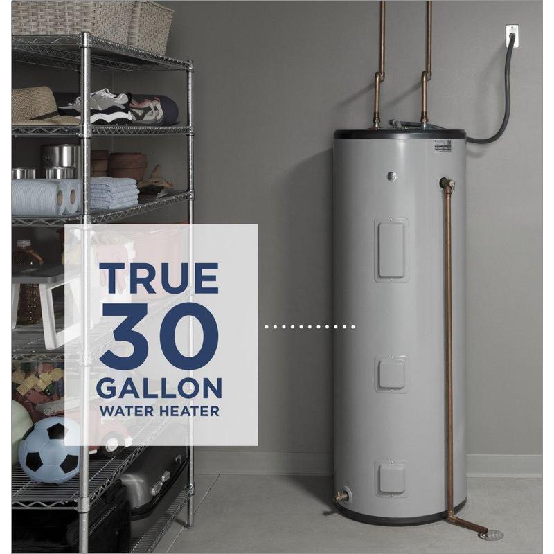 GE® 30 Gallon Tall Electric Water Heater