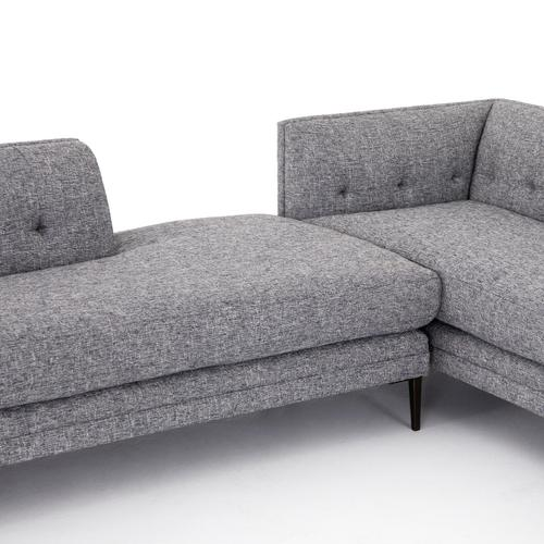 Lyon Slate Cover Right Arm Facing Configuration Kingsley Sectional