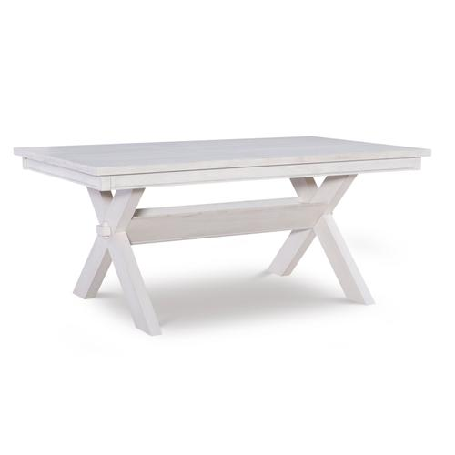 Powell Company - Turino Distressed White Dining Table - Ctn 2