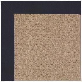 "Creative Concepts-Grassy Mtn. Canvas Navy - Rectangle - 24"" x 36"""