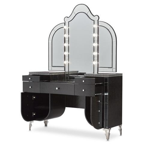 Amini - Vanity Desk & Mirror 2 PC