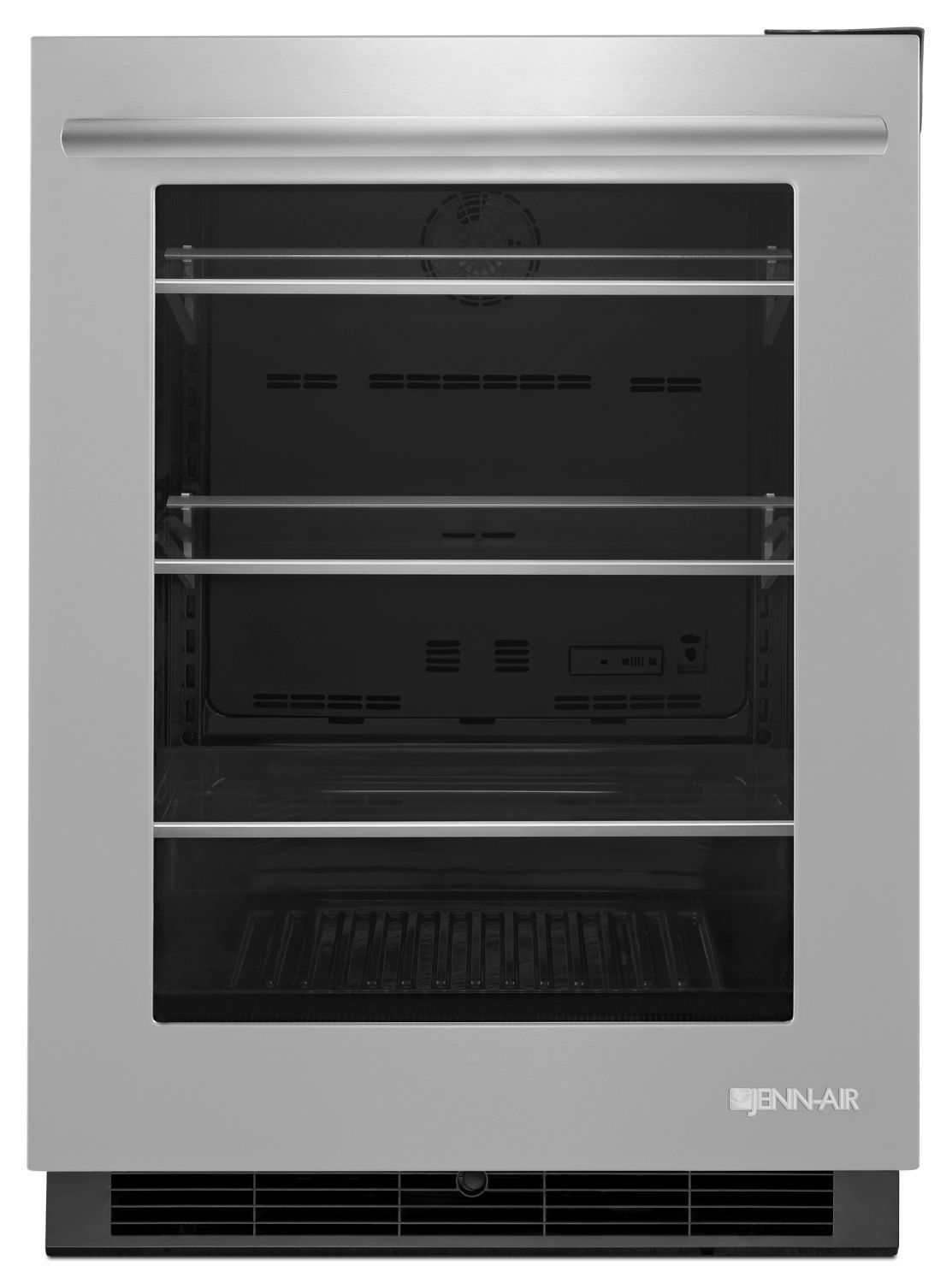 """Euro-Style 24"""" Under Counter Refrigerator Stainless Steel"""