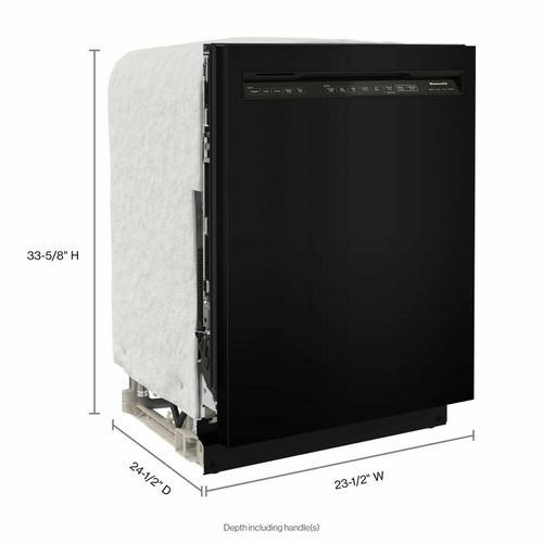 KitchenAid - 47 dBA Two-Rack Dishwasher with ProWash™ Cycle - PrintShield Stainless