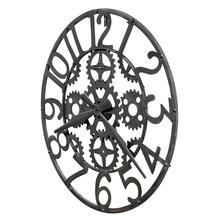 625-698 Iron Works Wall Clock