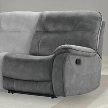 COOPER - SHADOW GREY Manual Right Arm Facing Recliner
