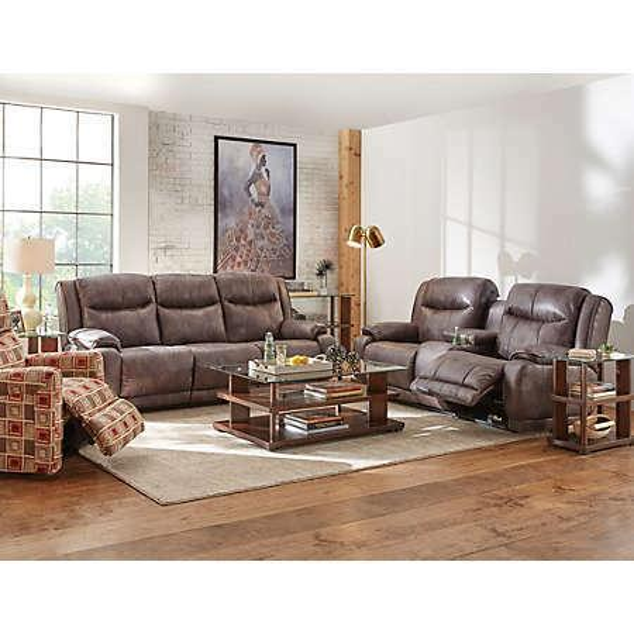 Tri-Cliner Sofa