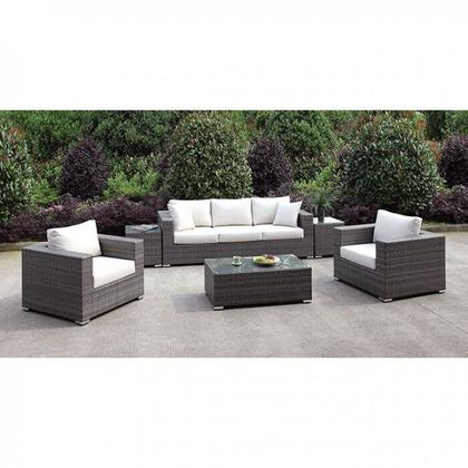 See Details - Somani Sofa + 2 Chairs + 2 End Tables + Coffee Table
