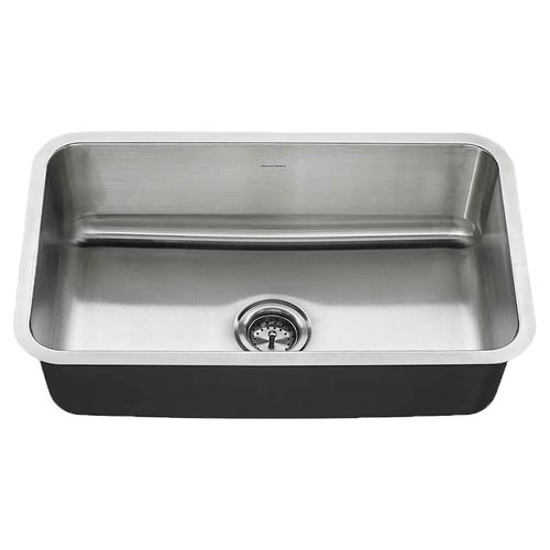 American Standard Undermount 30x18 Stainless Steel Sink - Stainless Steel